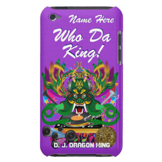 Mardi Gras D. J. Dragon King View Hints please iPod Case-Mate Case