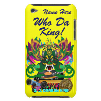 Mardi Gras D. J. Dragon King View Hints please iPod Touch Case