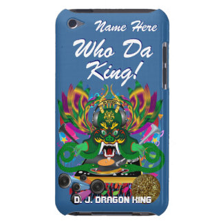 Mardi Gras D. J. Dragon King View Hints please iPod Touch Case-Mate Case