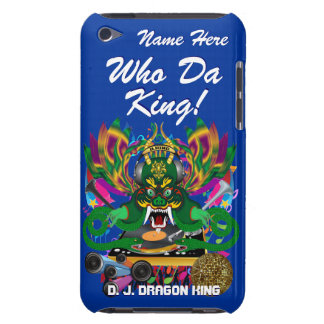 Mardi Gras D. J. Dragon King View Hints please iPod Touch Cover