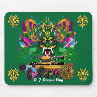 Mardi Gras D. J. Dragon King View Hints please Mouse Pad