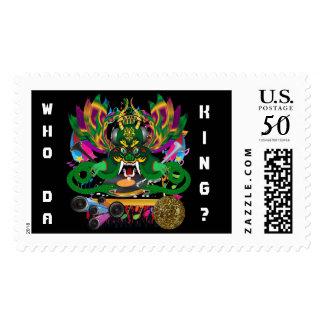 Mardi Gras D. J. Dragon King View Hints please Postage