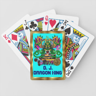 Mardi Gras D. J. Dragon King View notes please Bicycle Playing Cards