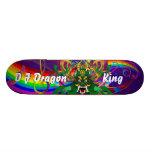 Mardi Gras D. J. Dragon King View notes please Skateboard Deck