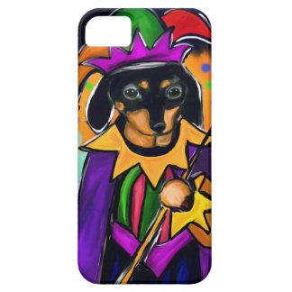 MARDI GRAS DACHSHUND iPhone SE/5/5s CASE