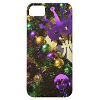 Mardi Gras decorations iPhone Case