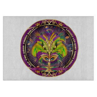 Mardi Gras Decorative Center Piece View About Desi Cutting Board