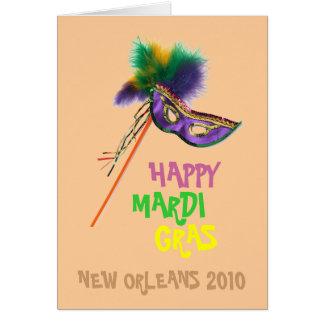 MARDI GRAS DESIGNS CARD