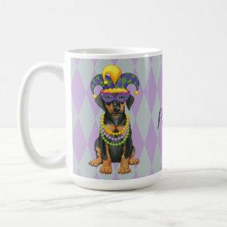 Mardi Gras Dobe Coffee Mug
