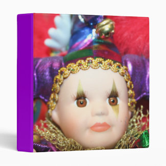 Mardi Gras Doll binder