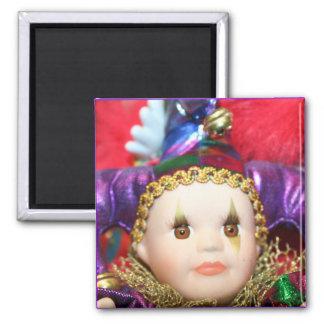 Mardi Gras Doll magnet
