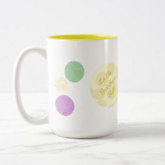 Mardi Gras Dots Celebration Fun Party Mug
