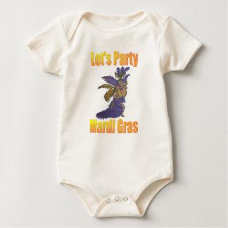 Mardi Gras Drag Queen Baby Bodysuit