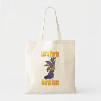 Mardi Gras Drag Queen Budget Tote Bag