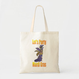 Mardi Gras Drag Queen Tote Bag