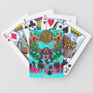 Mardi Gras Dragon King View notes please Bicycle Playing Cards