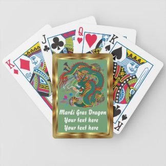 Mardi Gras Dragon view notes Please Poker Deck