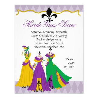 Mardi Gras Dress Shop Announcement