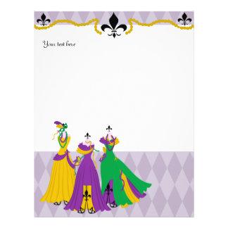 Mardi Gras Dress Shop Custom Flyer