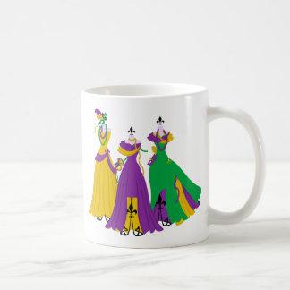 Mardi Gras Dress Shop Mugs