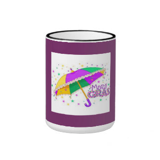 Mardi Gras drinking mug