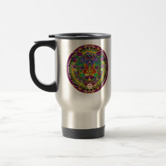 Mardi Gras Dual Design 2 Kings View Notes Please Travel Mug