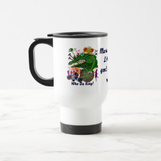 Mardi Gras Dual Designs Important view notes Travel Mug