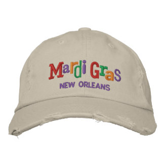 Mardi Gras Embroidery Hat Embroidered Hats