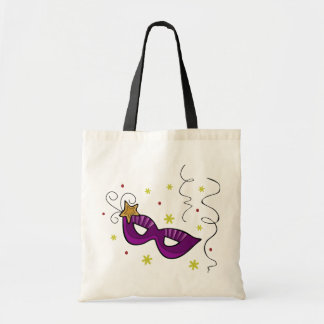 Mardi Gras Eye Mask Tote Bag