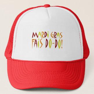 Mardi Gras - Fais Do-Do! (red, yellow & orange) Trucker Hat