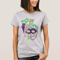 Mardi Gras Fat Tuesday 2017 Celebration Costume T-Shirt