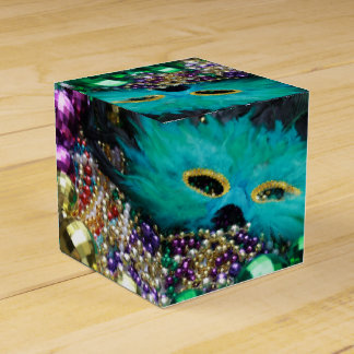 Mardi Gras Festive Party Favor Custom Gift Box