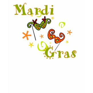 Mardi Gras Festive Womens T-Shirt shirt