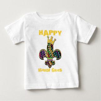 Mardi Gras Fleur Celebrate Baby T-Shirt