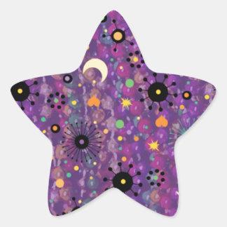Mardi Gras Fleur Celebrate gifts Star Sticker