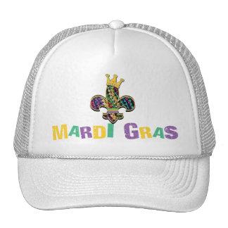 Mardi Gras Fleur Celebrate Hats