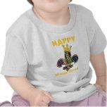 Mardi Gras Fleur Celebrate T Shirt