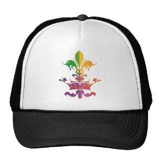Mardi Gras Fleur de Crown Trucker Hat