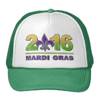 Mardi Gras Fleur-de-Lis 2016 Hat