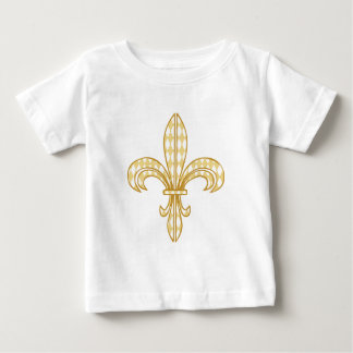 Mardi Gras Fleur De Lis Baby T-Shirt