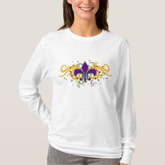 Mardi Gras Fleur-de-Lis T-Shirt