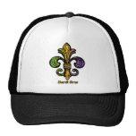 Mardi Gras Fleur de lis Trucker Hat