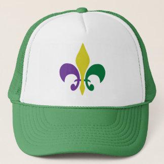 Mardi Gras ~ Fleur De Lis Trucker Hat