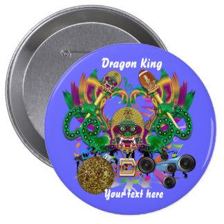 Mardi Gras Football Dragon King view notes Please Button