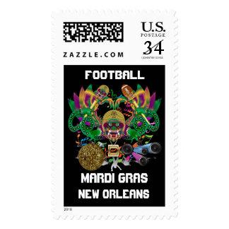 Mardi Gras Football Dragon King view notes Please Postage