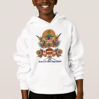 Mardi Gras Football think it's to early view notes Hoodie