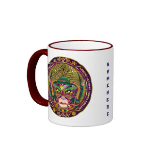 Mardi Gras Football think it's to early view notes Ringer Mug