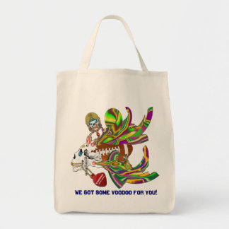 Mardi Gras Football Voodoo Skelly View Notes Plse Canvas Bags