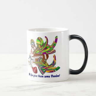 Mardi Gras Football Voodoo Skelly View Notes Plse Magic Mug