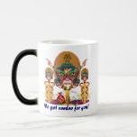 Mardi Gras Football We got voodoo for you 11 Oz Magic Heat Color-Changing Coffee Mug